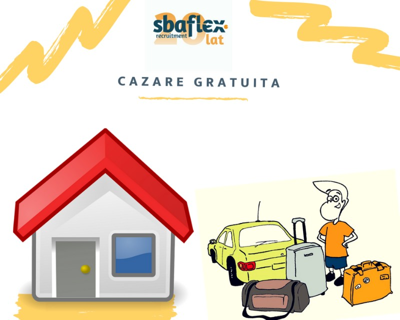 Cazare gratuita SBA FlexHousing accomodation bonus